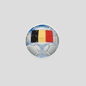 Belgium Football Mini Button