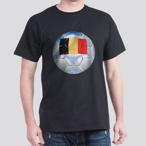 Belgium Football Dark T-Shirt