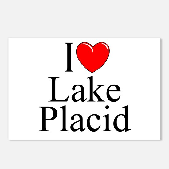 """""""I Love Lake Placid"""" Postcards (Package of 8)"""