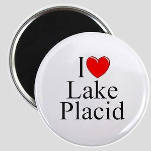 """I Love Lake Placid"" Magnet"