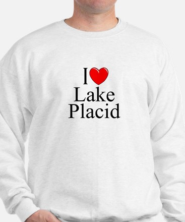 """I Love Lake Placid"" Sweatshirt"