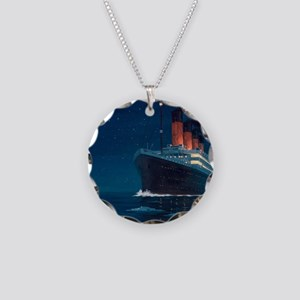 Titanic Necklace Circle Charm