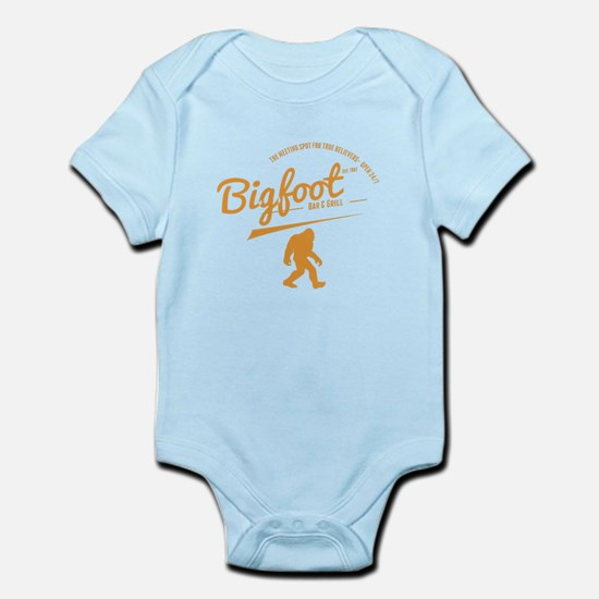 Orange Bigfoot Bar And Grill Body Suit