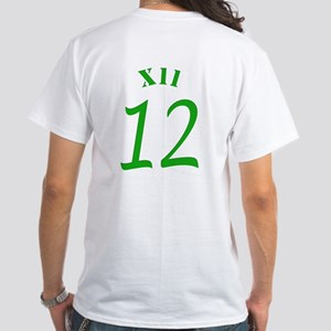 Football Colors Green And White T-Shirt