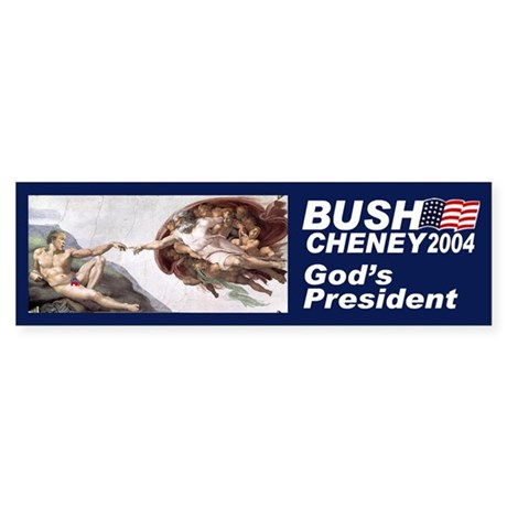 God's President Bumper Sticker