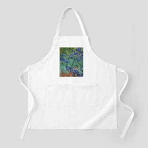 Irises by Vincent Van Gogh Apron