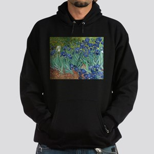 Irises by Vincent Van Gogh Hoodie