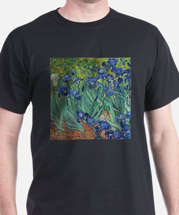 Irises by Vincent Van Gogh T-Shirt