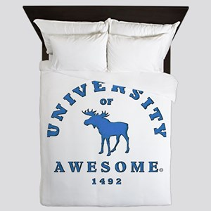 AWESOME UNIVERSITY Queen Duvet