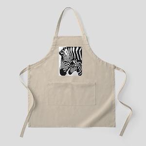 Zebra Power Apron