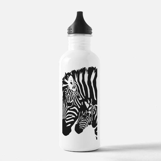 Zebra Power Water Bottle