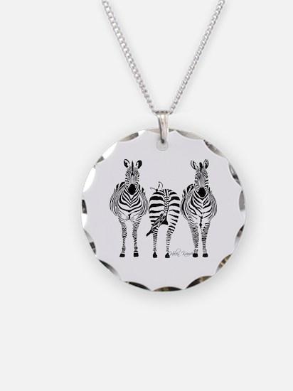 Zebra Power Necklace