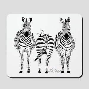 Zebra Power Mousepad