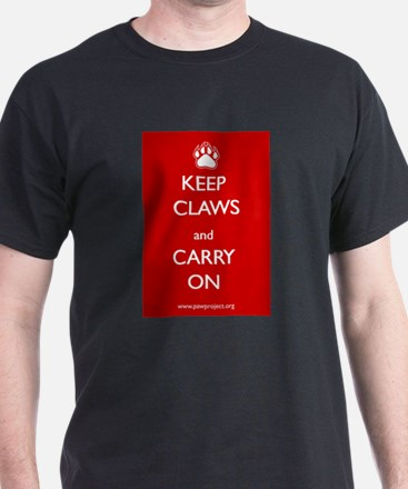 Keep Claws and Carry On T-Shirt
