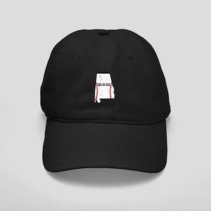 T Ball Mom Shirt Alabama Tee Black Cap with Patch