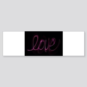 Love Valentine Bumper Sticker
