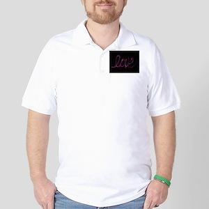 Love Valentine Golf Shirt