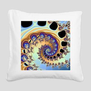 Tsunami Square Canvas Pillow