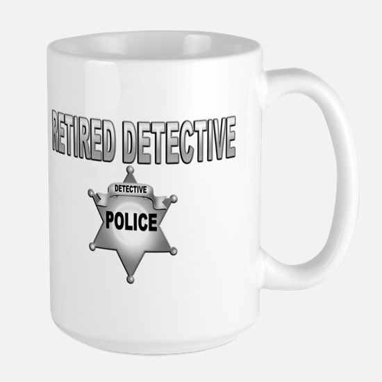 RETIRED DETECTIVE Mugs