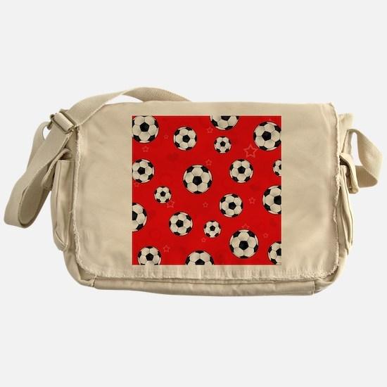 Cute Soccer Messenger Bag