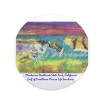 "Mendocino Headlands State 3.5"" Button (100 Pa"