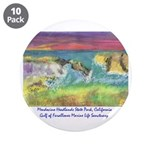 "Mendocino Headlands State 3.5"" Button (10 Pac"