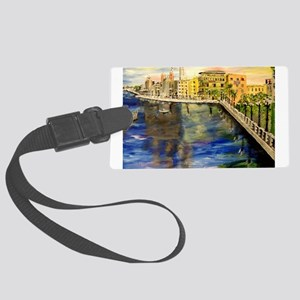 Bari Italy Luggage Tag