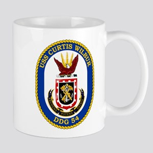 USS Curtis Wilbur DDG-54 Mugs