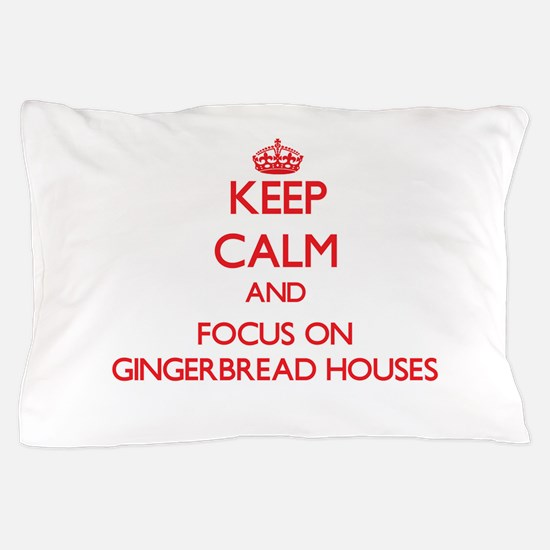 Cute Gingerbread Pillow Case