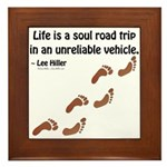 Soul Road Trip Framed Tile