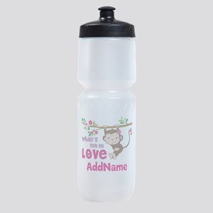 Whats Not to Love Personalized Sports Bottle