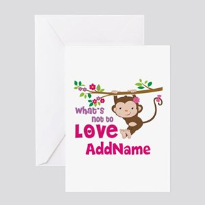 Safari baby shower greeting cards cafepress whats not to love personalized greeting card m4hsunfo