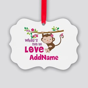 Whats Not to Love Personalized Picture Ornament
