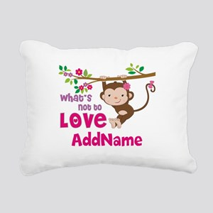 Whats Not to Love Person Rectangular Canvas Pillow