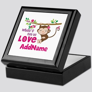Whats Not to Love Personalized Keepsake Box