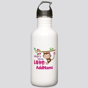 Whats Not to Love Pers Stainless Water Bottle 1.0L