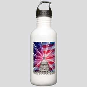 The World of Politics Water Bottle