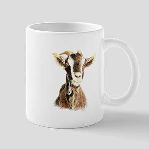 Watercolor Goat Farm Animal Mugs
