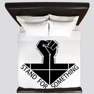 stand for something King Duvet
