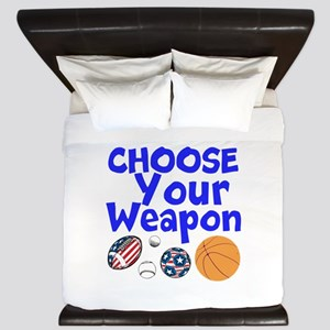 Choose Your Weapon King Duvet