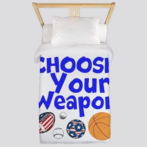 Choose Your Weapon Twin Duvet