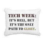 Tech Week Rectangular Canvas Pillow