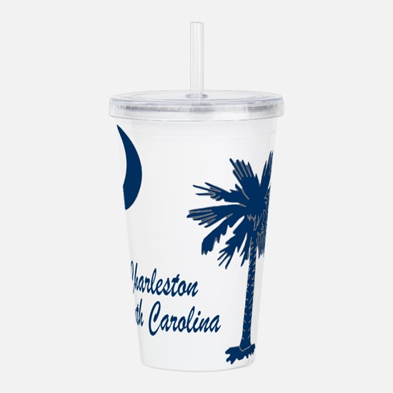 Charleston Blue Acrylic Double-wall Tumbler