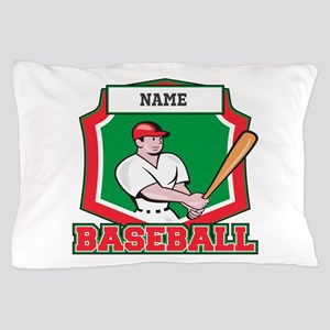 Custom Baseball Batter Pillow Case