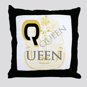 OYOOS Queen Pharoah design Throw Pillow