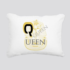 OYOOS Queen Pharoah design Rectangular Canvas Pill