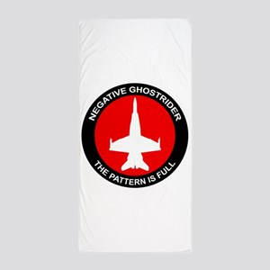 ghost8 Beach Towel