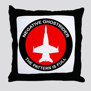 ghost8 Throw Pillow