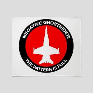 ghost8 Throw Blanket