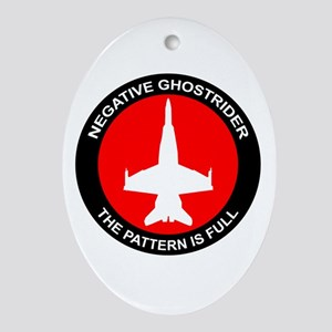 Ghost8 Ornament (oval)